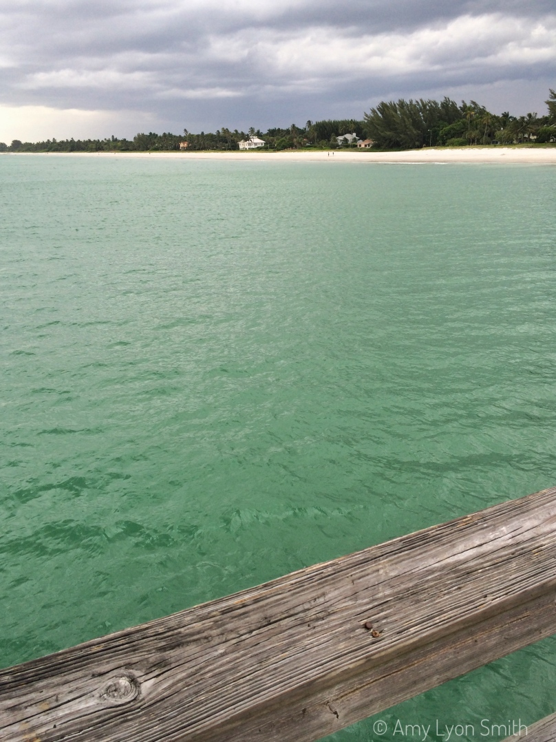 The Gulf of Mexico in Naples, Florida from the pier