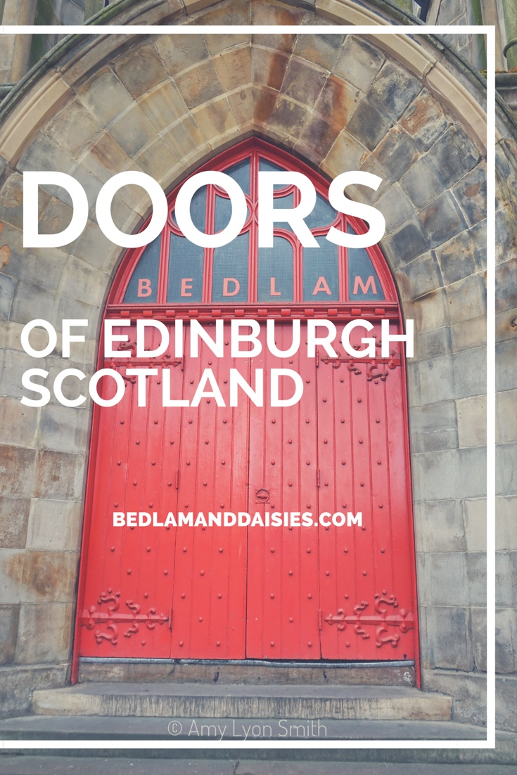 Doors of Edinburgh Scotland