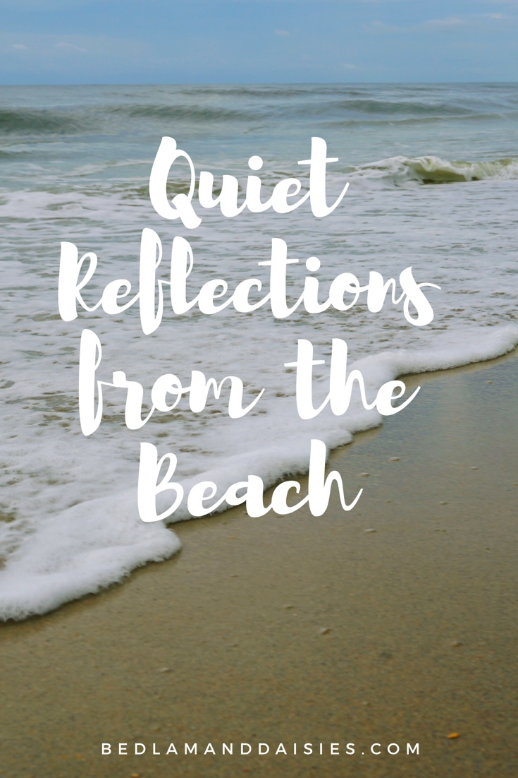 Quiet Reflections from the Beach