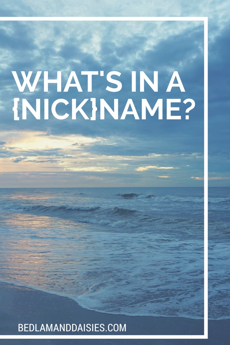What's in a {nick}name?