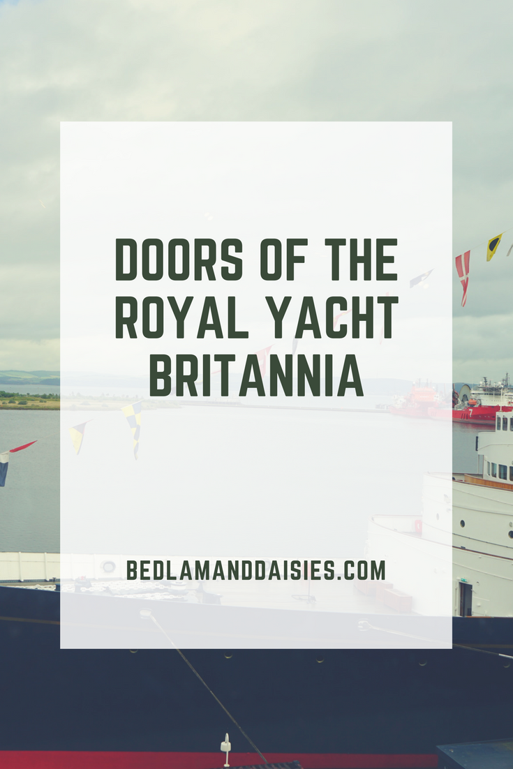 Doors of the Royal Yacht Britannia